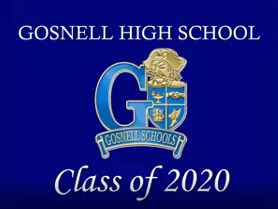 Gosnell High School -- Class of 2020