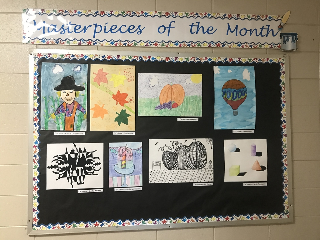Masterpiece of the Month. Great job Pirates!!