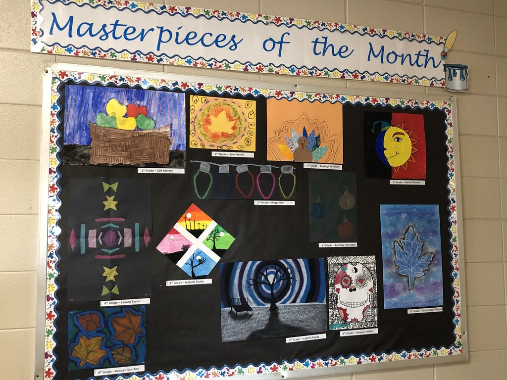 December- Masterpieces of the Month